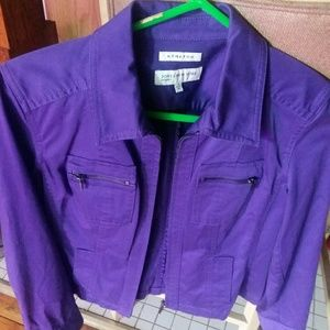 Jones New York Purple Jacket